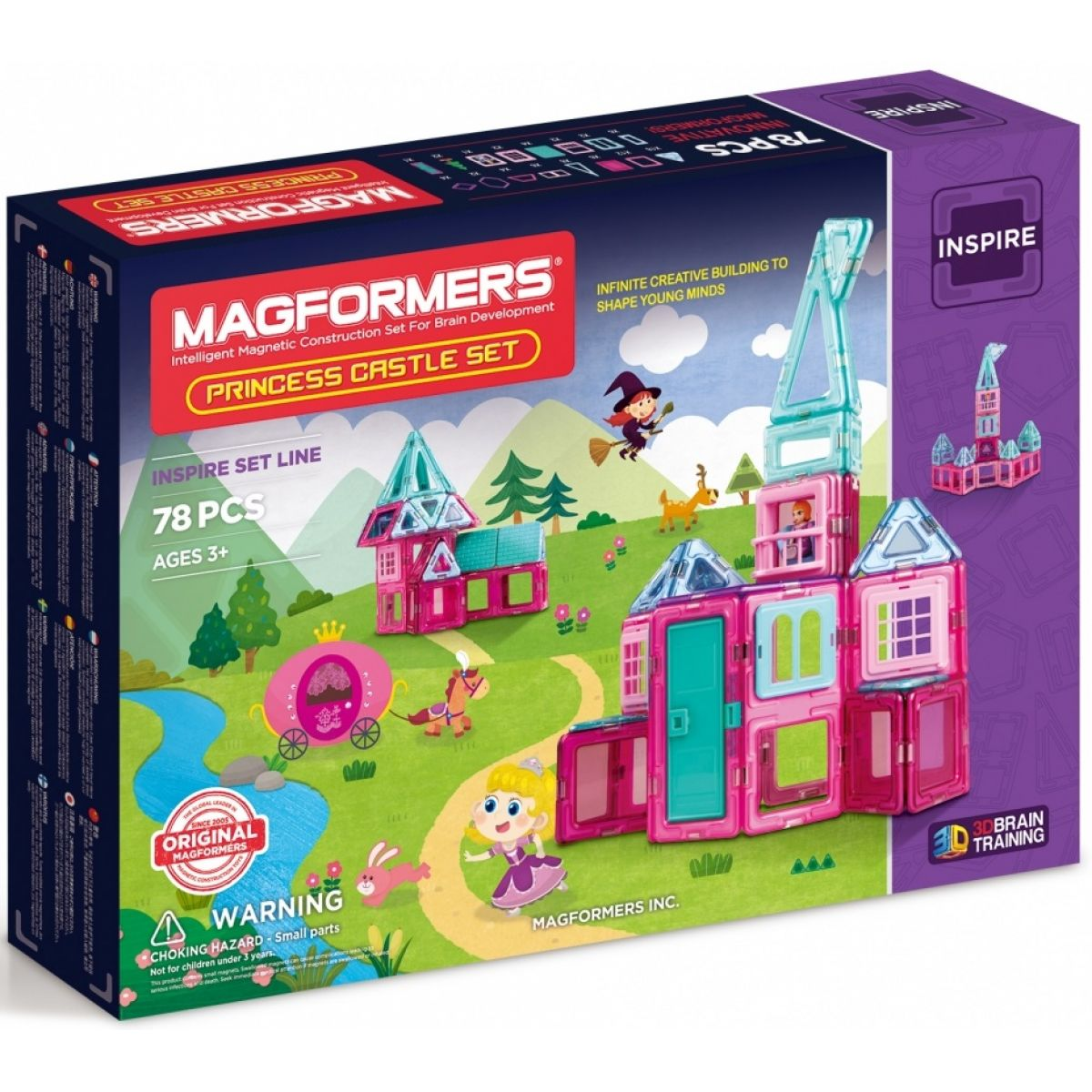 Magformers Princess Castle Set 78ks