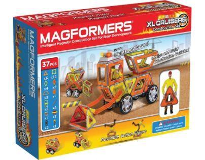 Magformers XL Cruisers Stavební auto