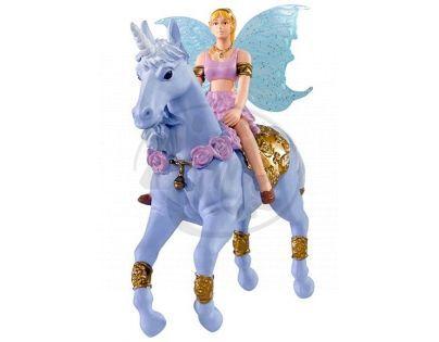 Simba Magic Fairies na koni - Jednorožec modrý