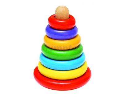 Woody 90674 - Magnetická skládací pyramida - Káča