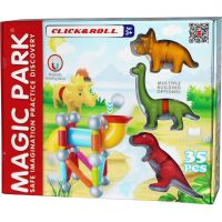 EP Line Magnetická stavebnice Magic Park Dino 30