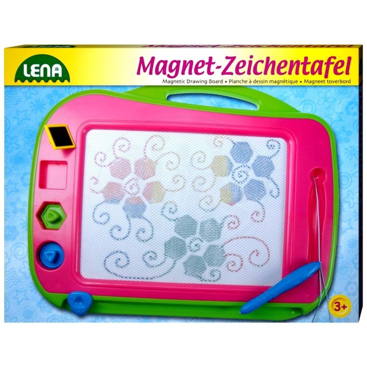 LENA 65714 - Magnetická tabulka, barevná 41cm