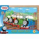 Tomáš a jeho přátelé 7216 - Puzzle dřevěné 12 ks na desce 2