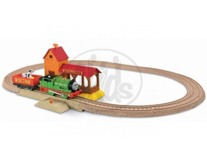 FISHER PRICE R9489 Mašinka Tomáš TrackMaster Sada - Percys day at the farm