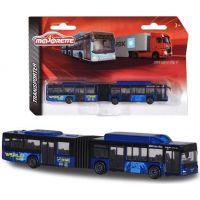 Majorette Autobus nebo nákladní auto, kovové MAN Lion's City G Travel Tmavě modrý