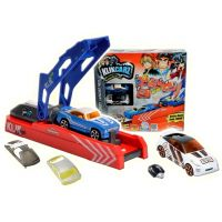Majorette MJ 2050103 - Klikcarz Klik´N Shoot Launcher Pack