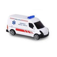 Majorette SOS vozidla kovová, světlo a zvuk Záchranná služba