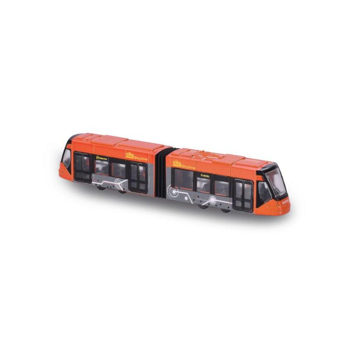 Majorette Tramvaj Siemens Avenio kovová Červená - Poškodený obal