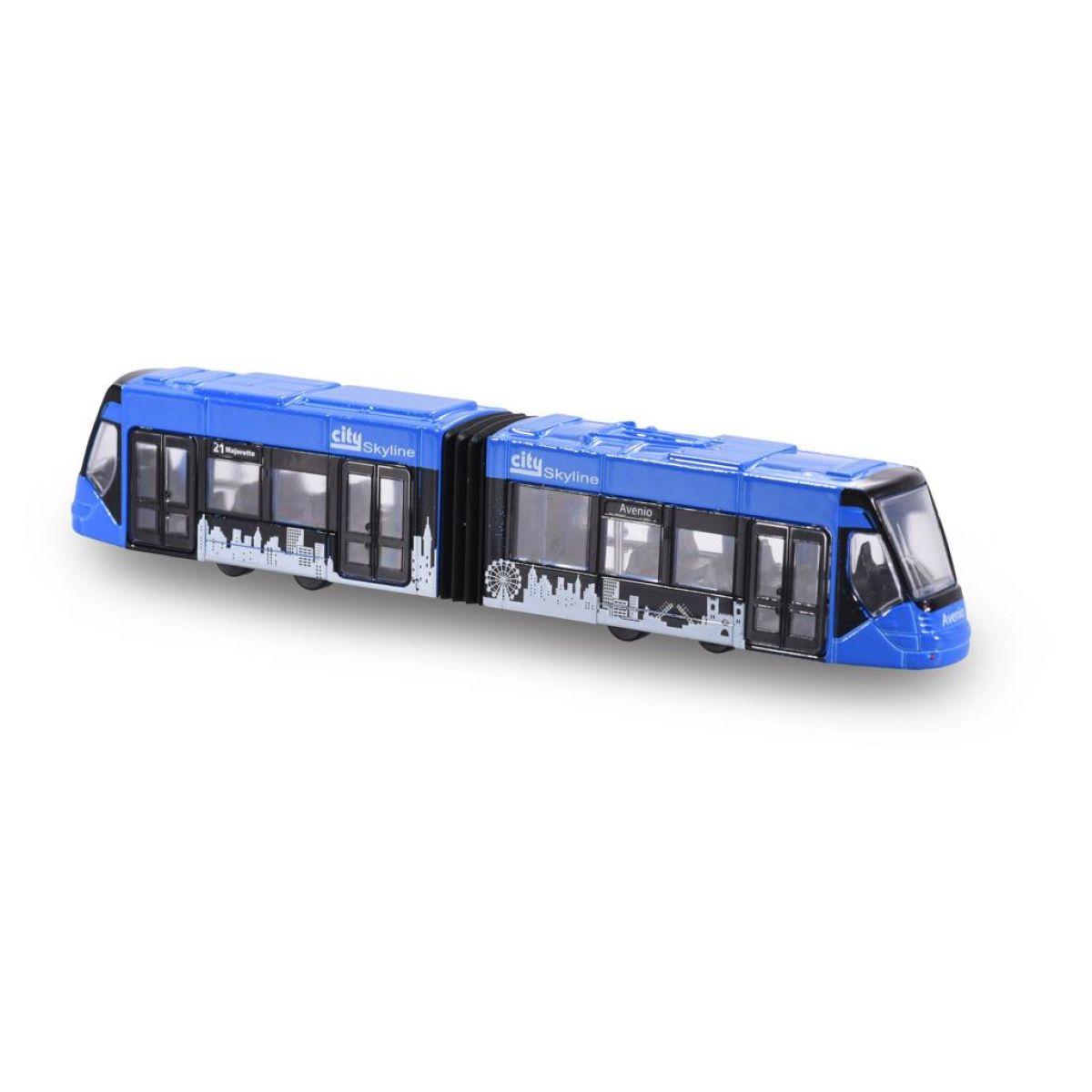 Majorette Tramvaj Siemens Avenio kovová Modrá