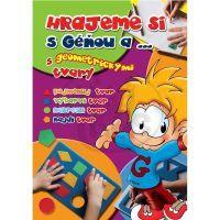 Hrajeme si s Géňou a ... s geometrickými tvary - Pospíšilová, Zuzana; Andělová, Romana (Junior 01036