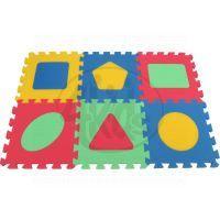 Malý Génius Pěnový koberec Maxi Geo silný