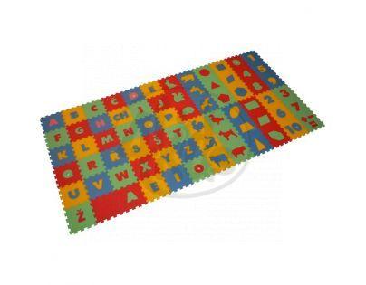 Malý Génius Pěnový koberec 8 mm mix 72 dílků