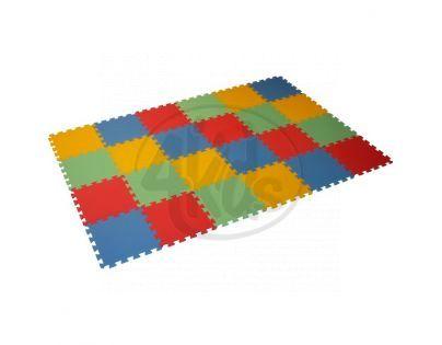 Malý Génius Pěnový koberec 8 mm Maxi 24 mix barev