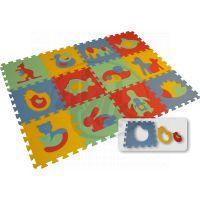 Malý Génius Pěnový koberec 8 mm Maxi 12 zvířata