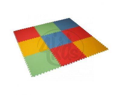 Malý Génius Pěnový koberec 8 mm XL 9 dílků