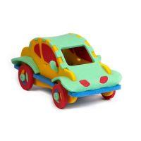 Malý Génius Puzzle 3D Autíčko 43 dílků