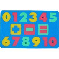 Malý Genius Pěnové puzzle Čísla