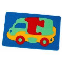 Malý Génius Pěnové puzzle Kamion 12 dílků