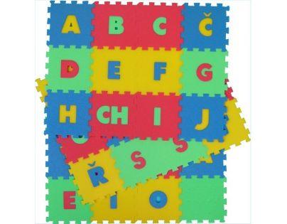 Malý Génius Pěnový koberec 8 mm písmena 36 dílků