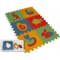 Pěnový koberec 8 mm Maxi 6 zvířata