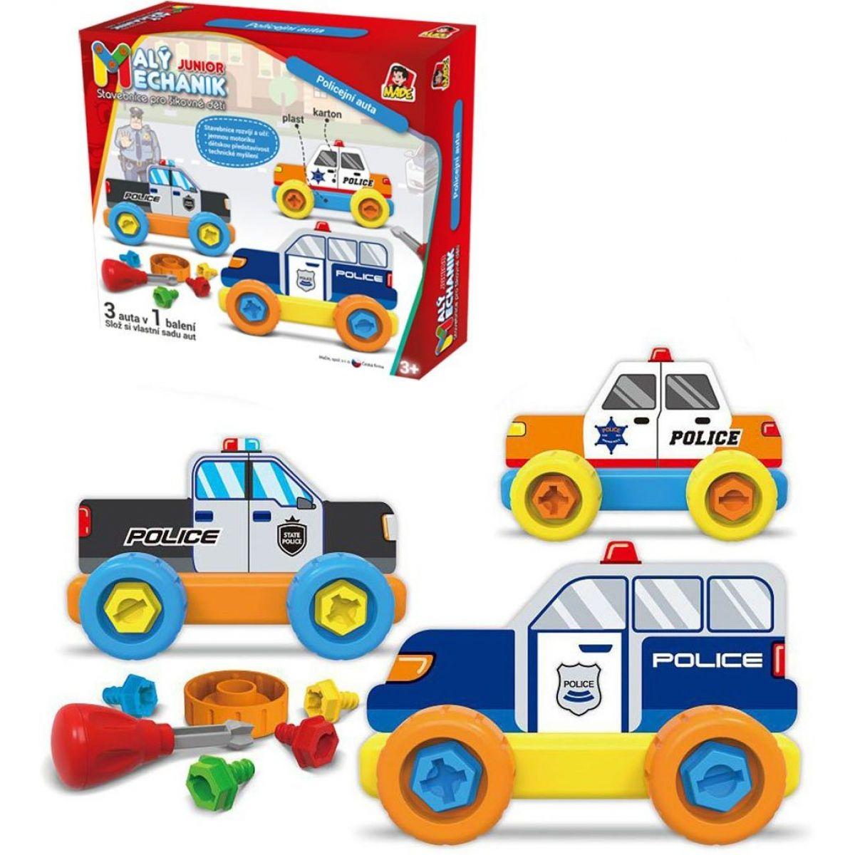 Malý mechanik plastový Junior policie