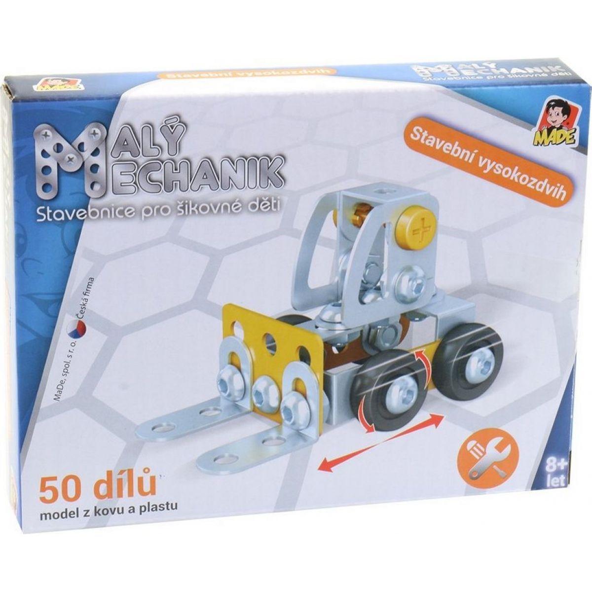 Made Malý mechanik Stavebná technika Vysokozdvižný vozík