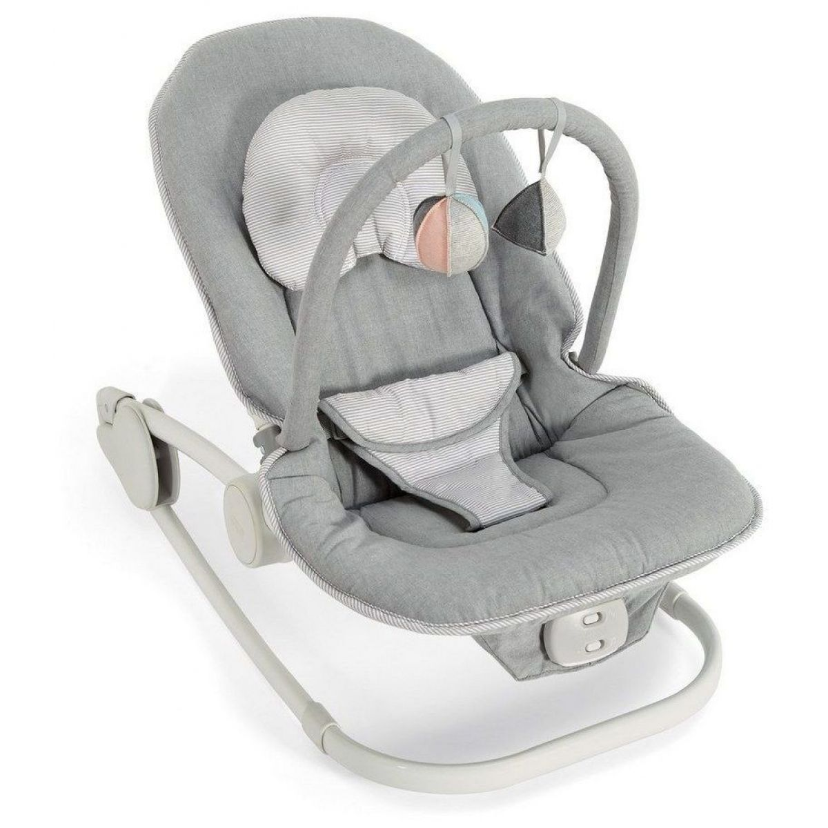 Mamas  Papas Lehátko Wave Rocker Grey Melange
