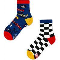 Many Mornings Dětské ponožky Formula Racing 23-26