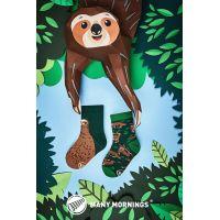 Many Mornings Dětské ponožky Sloth Life 27-30 2