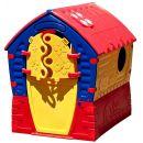 Domeček Dream House - červeno-žlutý 2