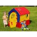 Domeček Dream House - červeno-žlutý 4