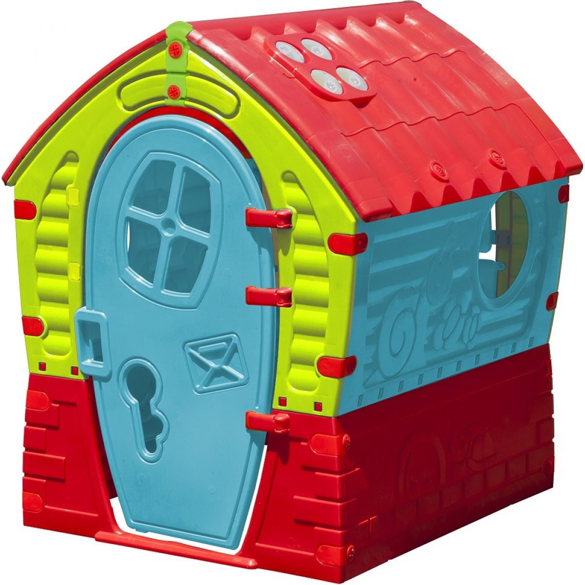 Domeček Dream House zeleno-modrý