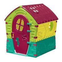 Domeček Dream House - žluto-zelený