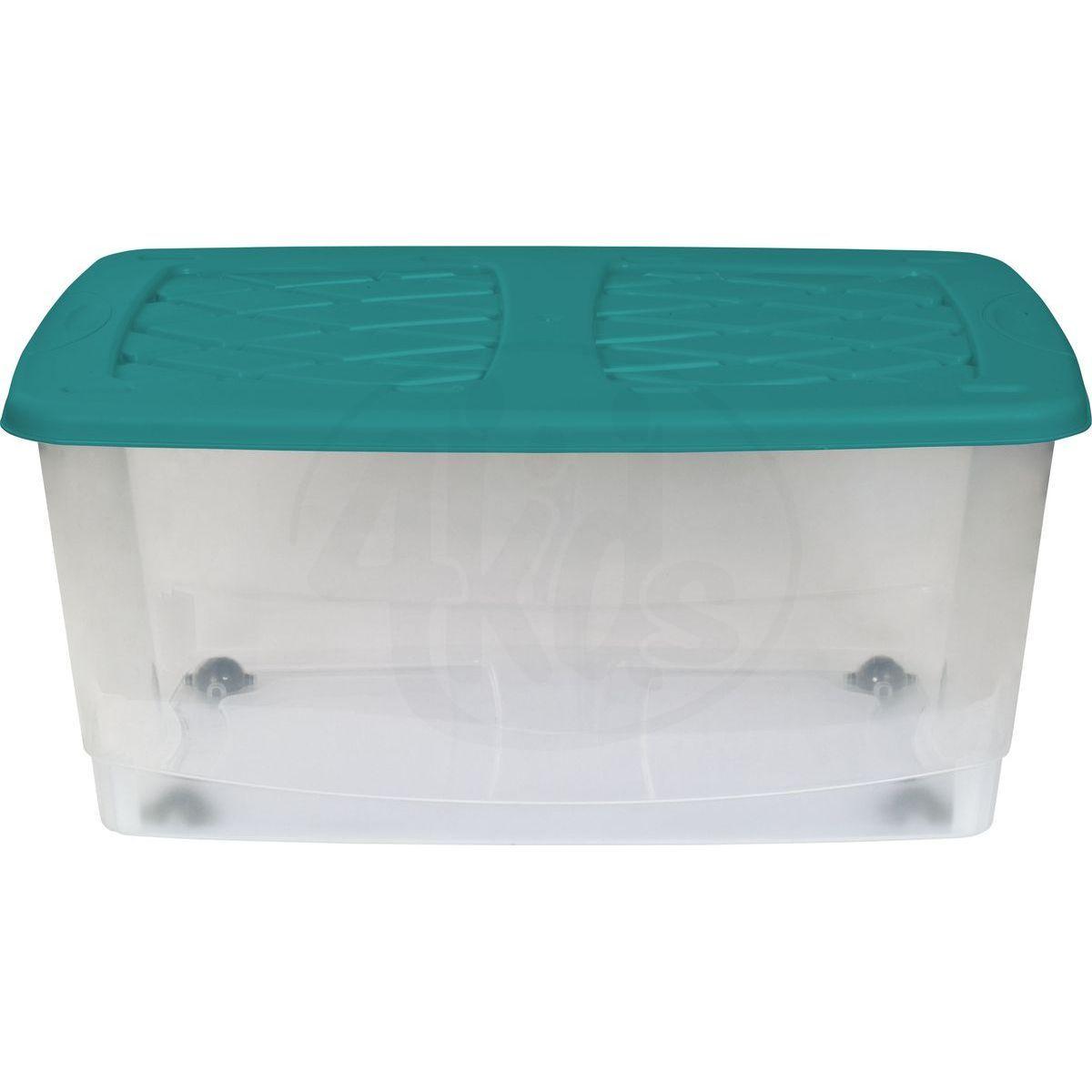 Marianplast Dětský kontejner na hračky Zelené víko