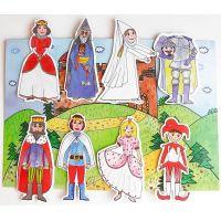 Marionetino Královská sada I a II Scéna s figurkami