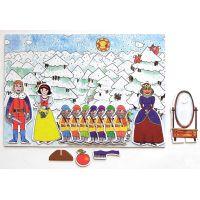 Marionetino Sněhurka Scéna s figurkami