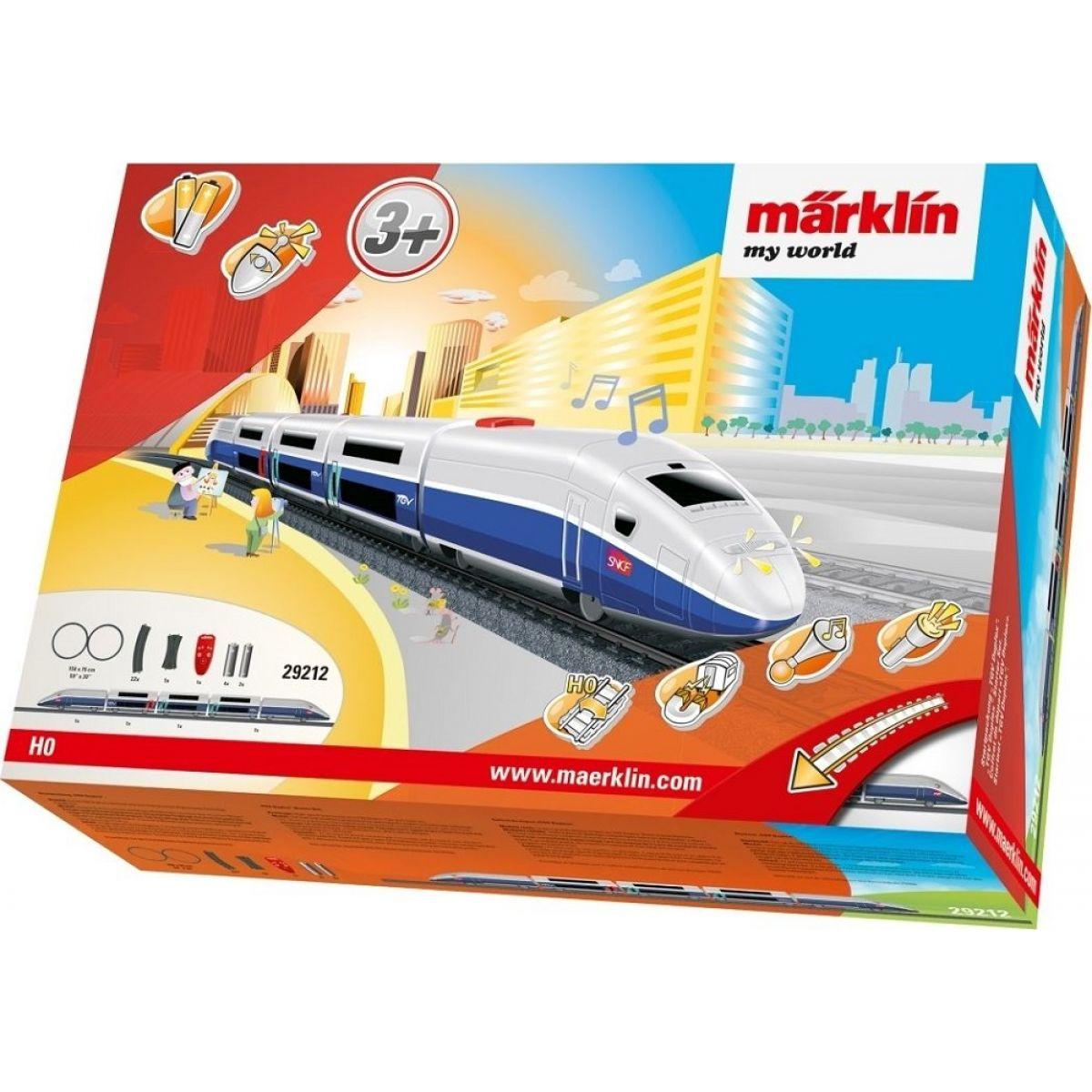 Märklin My World IRC vlak TGV Duplex a koleje
