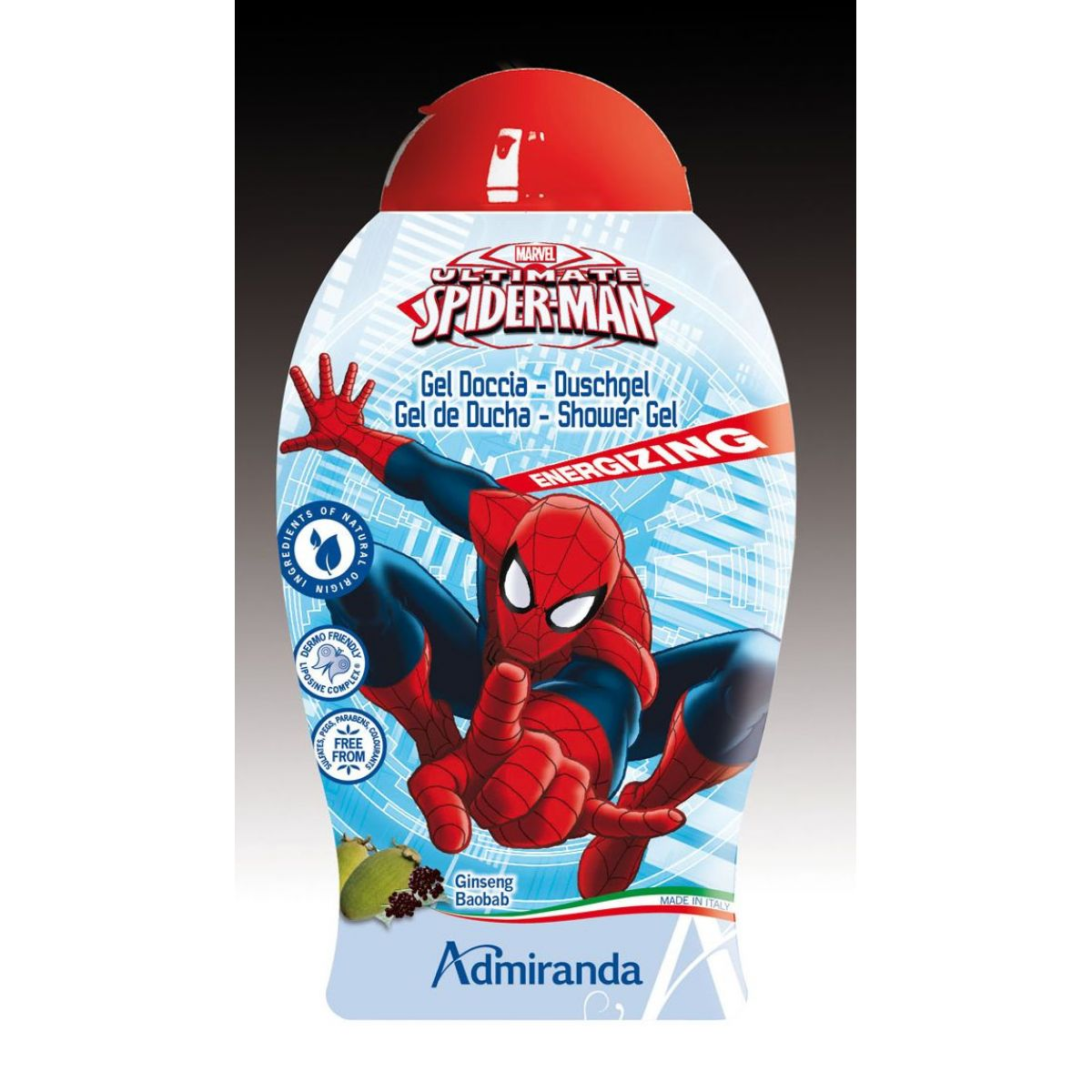 Marvel Ultimate Spiderman Sprchový gel 250 ml