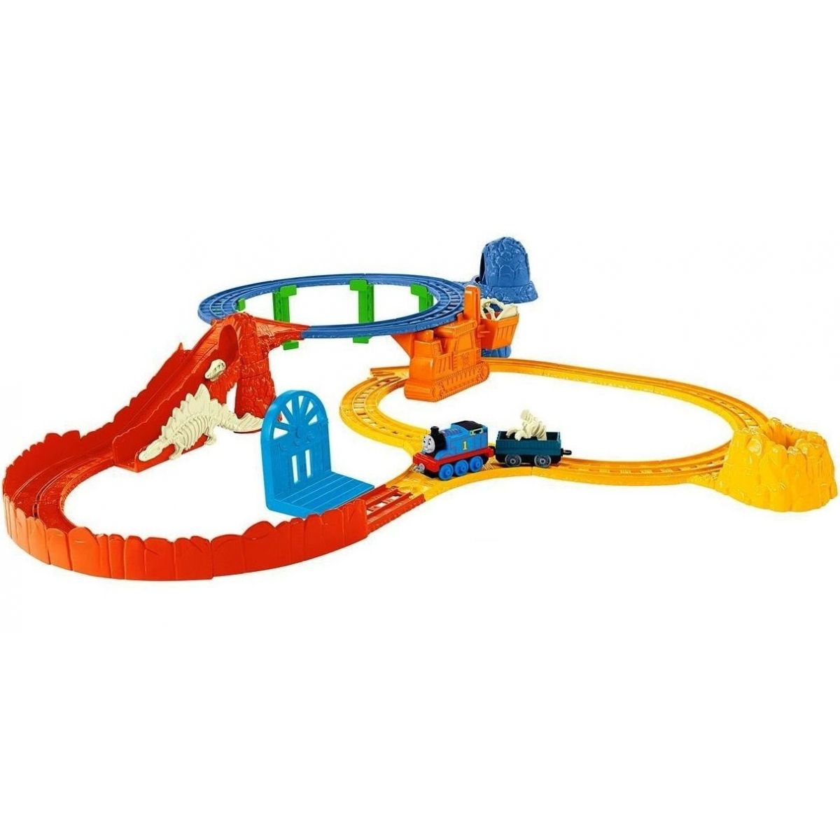 Fisher Price Mašinka Tomáš Collectible Railway Dino