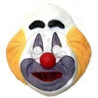 Maska klaun vinyl Rappa