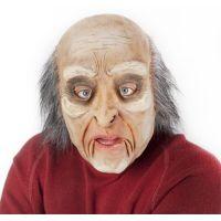 Rappa Maska muž s vlasy a pohyblivou mimikou
