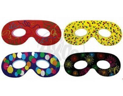 Rappa Maska oční klasická 6ks