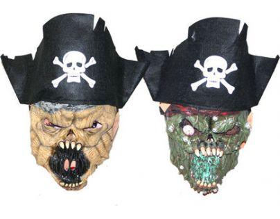 Rappa Maska pirát s čepicí vinyl, 2 druhy