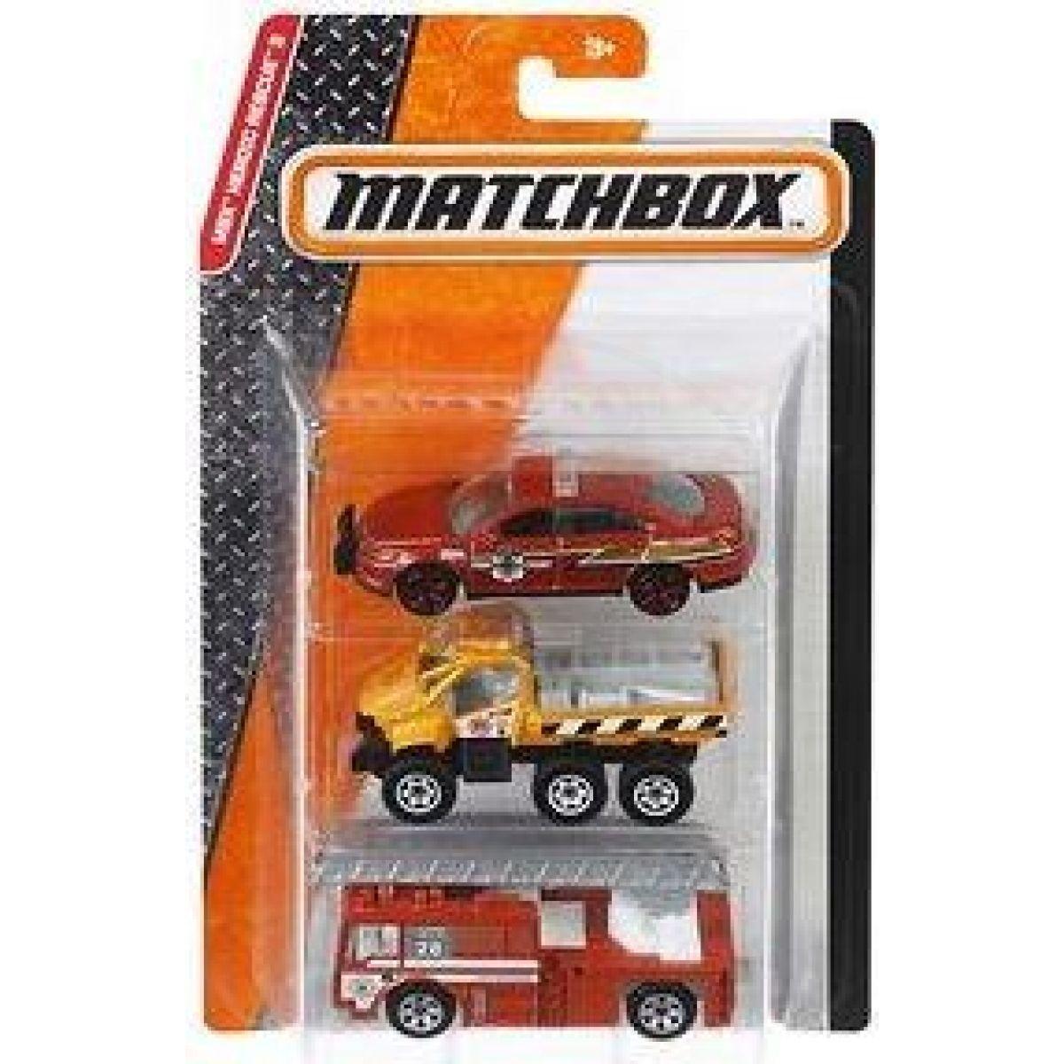 Matchbox Angličák 3ks