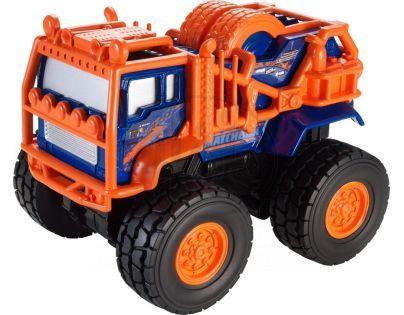 Matchbox MBX Auta na setrvačník ASS - Kamion modro-oranžový