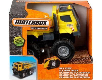 Matchbox MBX Auta na setrvačník ASS - Nákladní s korbou žluté