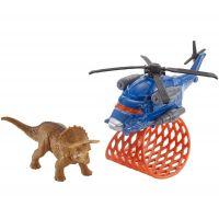 Matchbox Jurský svět Dino transportéři Tricera Copter