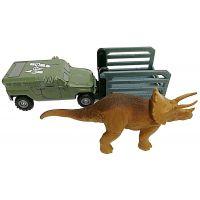 Matchbox Jurský svět Dino transportéři Tricera Tracker