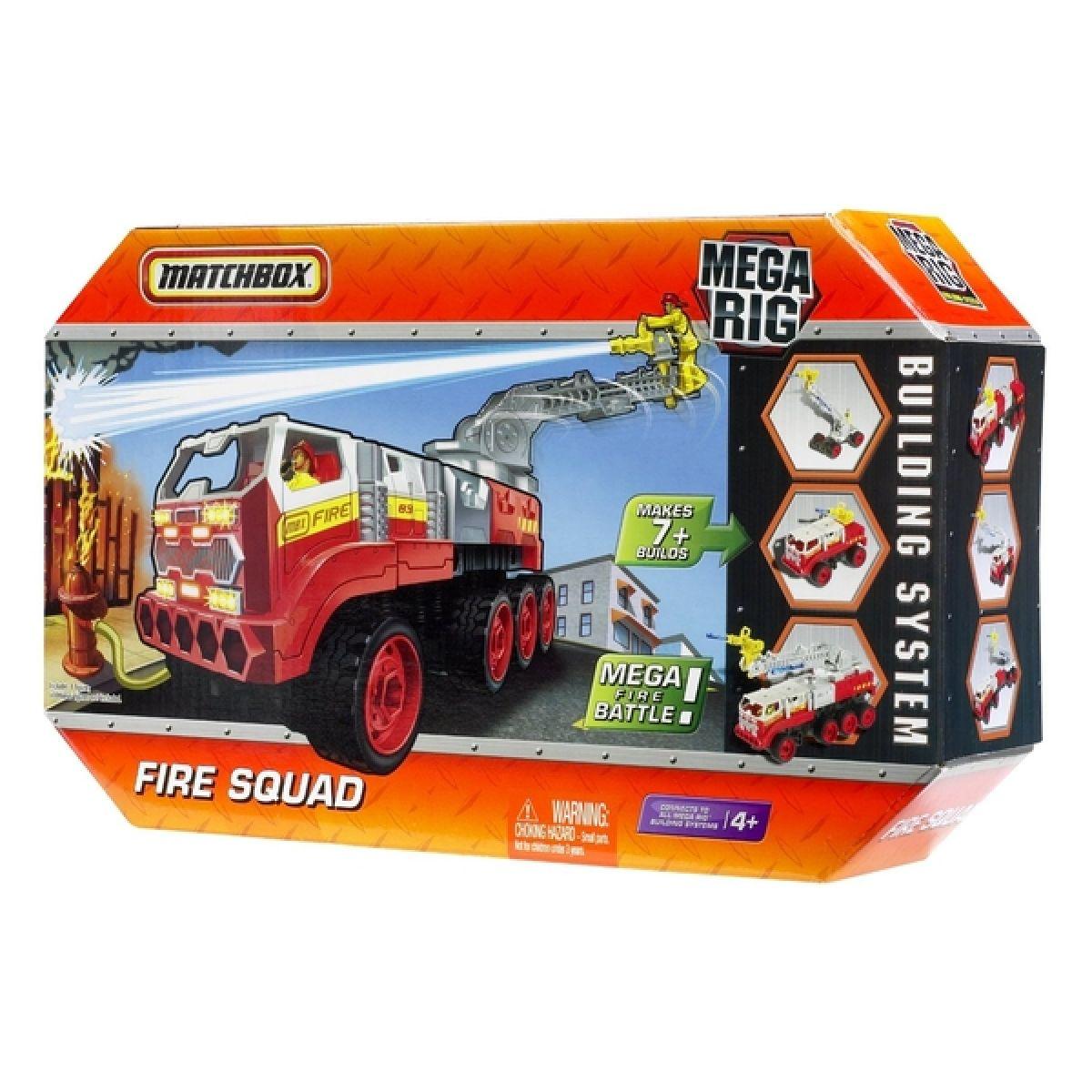 Matchbox Mega Rig 7v1 Mattel R4338