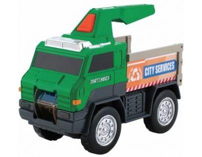 Matchbox svítící náklaďáky Užitkový náklaďák